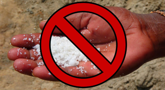not recommendation food with osteoarthritis salt