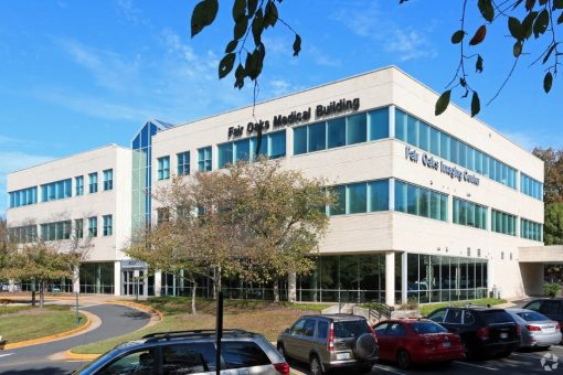 pain managment building in Fairfax Virginia