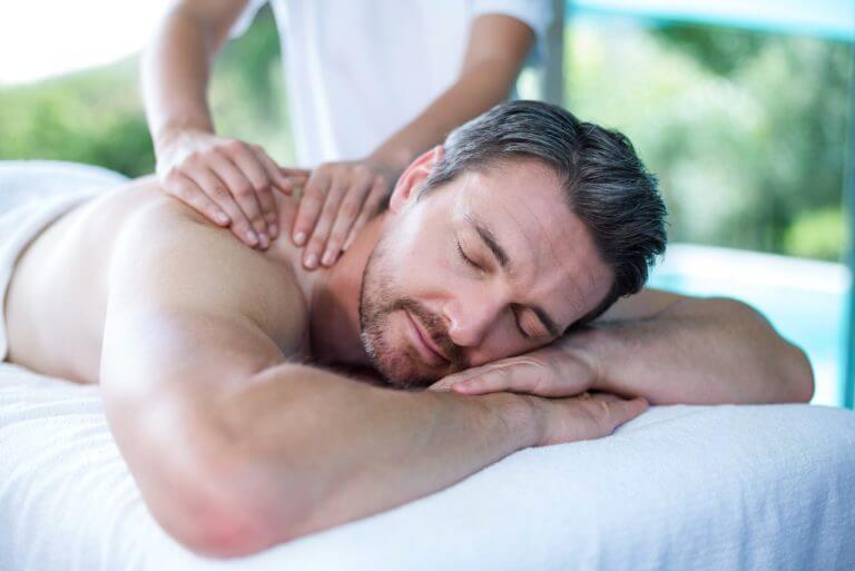 massage therapy with myofascial pain syndrome