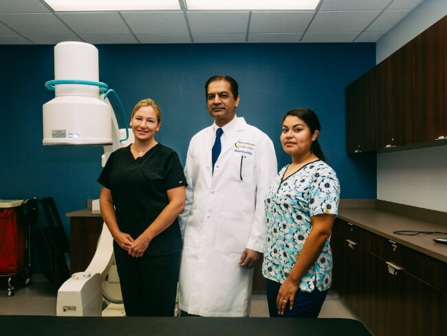 Spine Pain Diagnostics and Pain Management. SAPNA, Fairfax VA