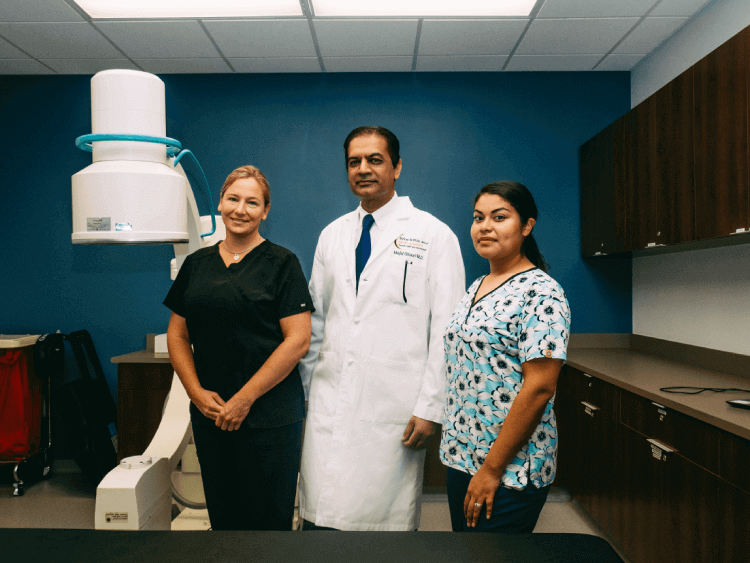 SAPNA Pain management medical staff