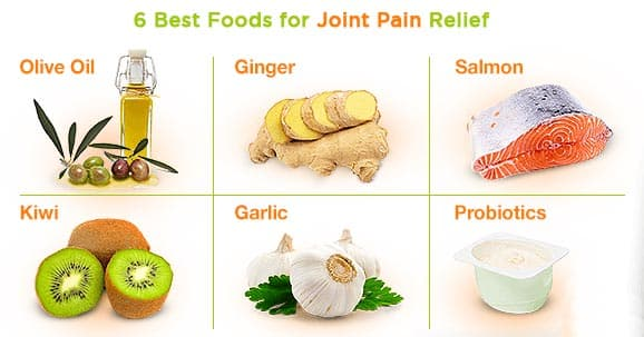 Best foods for joint pain relief