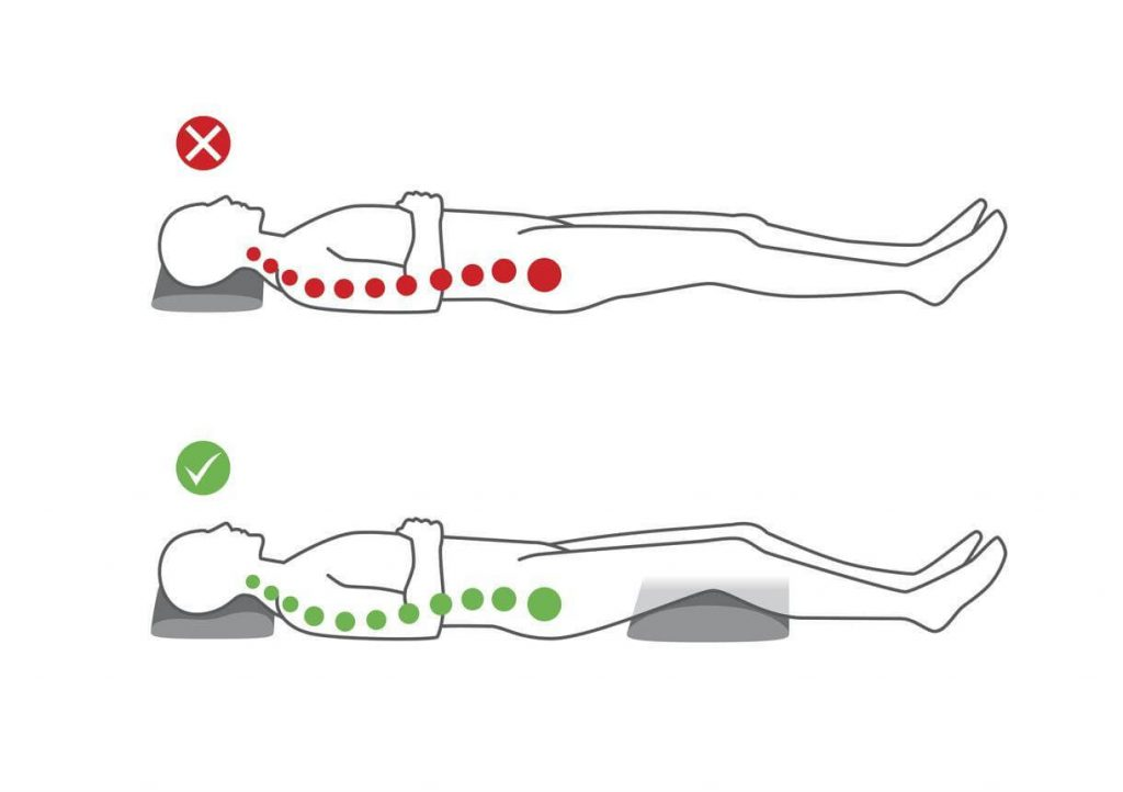 Choose a comfortable sleeping position but take steps to maintain neck and spine alignment