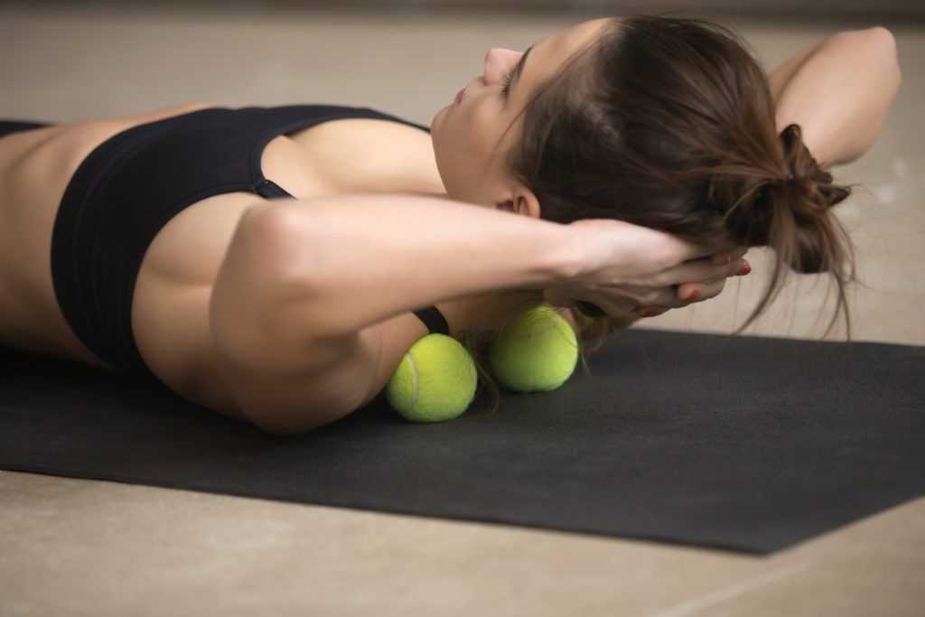 myofascial release tennis ball
