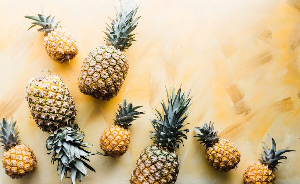 bromelain derived from the pineapple juice and stem