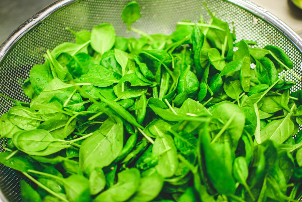 leafy greens are good for headache relief