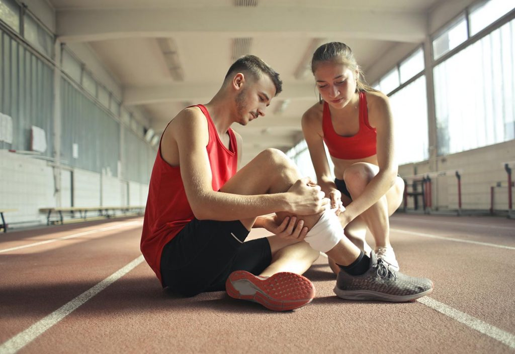 coping with exercise and other sports injuries